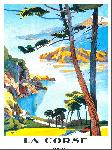 Affiche publicitaire de PERI La Corse