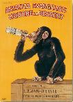 Affiche vintage de BISCARETTI Liqueur