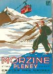 Affiche ancienne Morzine