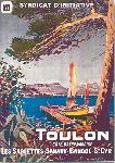 Affiche vintage Toulon