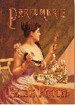 Affiche ancienne Parfumerie Felix Potin