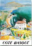 Affiche ancienne Cote Basque