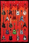 Affiche guitar de légende