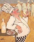 Affiche d'art de Carole KATCHEN chardonnay tasting