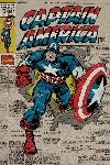 Affiche Captain America (Retro)