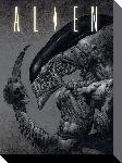 Toiles imprimées Alien - head on tail 30x40