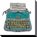 Toiles imprimées Barry goodman (typewriter) - 40x40