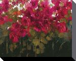 Toiles imprimées D - fleur - 40 x 50cm - ann neate