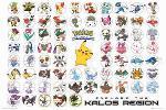 Poster des Pokémons