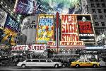 Affiche de New York - Theatre