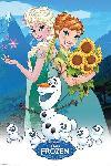 Affiche du film animé La Reine Des Neiges - Une fête givrée