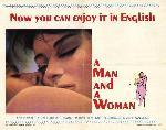 Affiche du film Un Homme et une femme