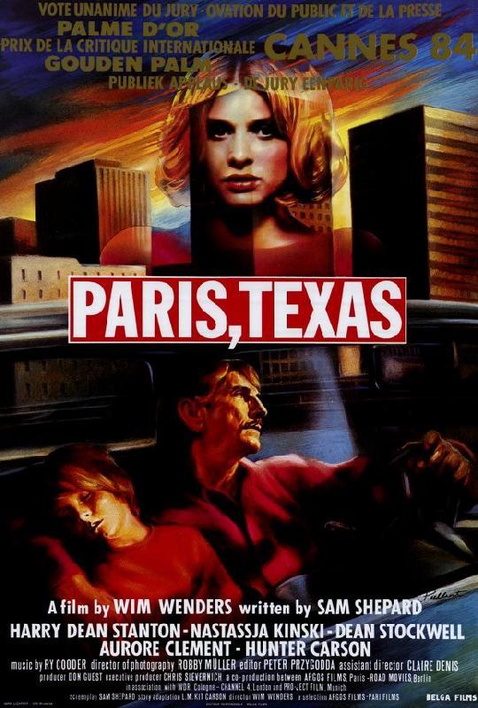 affiche du film paris texas acheter affiche du film paris texas 25307 affiches et. Black Bedroom Furniture Sets. Home Design Ideas