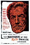 Affiche du film Le Masque de la mort rouge