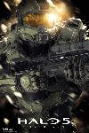 Affiche du jeu vidéo Halo 5