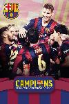 Affiche football Barcelone