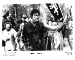 Photo noir & blanc du film Evil Dead III : l'armée des ténèbres