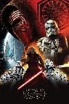 Poster de la saga Star Wars Episode VII
