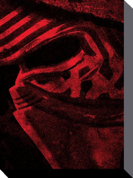 affiches posters toile imprim e du film star wars episode vii. Black Bedroom Furniture Sets. Home Design Ideas