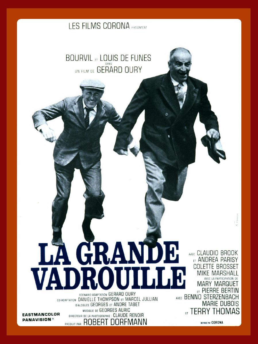 affiche du film la grande vadrouille acheter affiche du. Black Bedroom Furniture Sets. Home Design Ideas