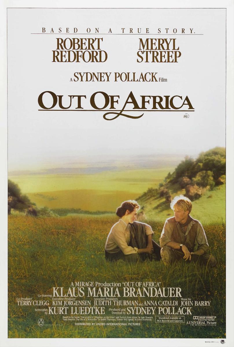 affiche du film out of africa souvenirs d 39 afrique acheter affiche du film out of africa. Black Bedroom Furniture Sets. Home Design Ideas