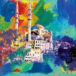 Affiche de Robert Holzach Istanbul