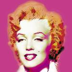Photo pop art de Wyndham Boulter Marilyn in Pink