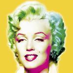 Poster pop art de Wyndham Boulter Marilyn in Yellow