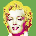 Affiche pop art de Wyndham Boulter Marilyn in Green