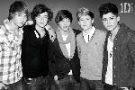 Poster noir & blanc de One Direction