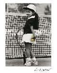 Affiche noir et blanc de Kim Anderson The Champion