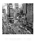 Photo noir et blanc de Henri Silberman Times Square Afternoon