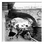 Photo noir et blanc de Paul Almasy Rock'n'Roll sur les Quais