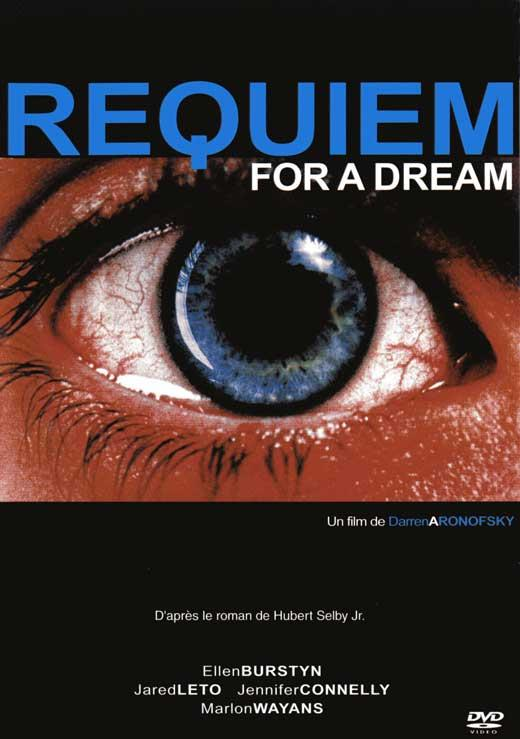"""requiem for a dream film response """"requiem for a dream,"""" based on hubert selby jr's cult novel  the film is all  visual style without much substance what's your reaction to that."""