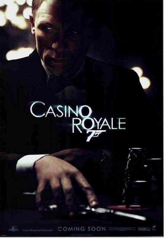 affiche du film james bond casino royale acheter affiche du film james bond casino royale. Black Bedroom Furniture Sets. Home Design Ideas