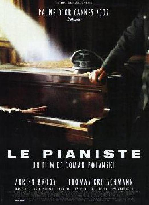 affiche du film le pianiste acheter affiche du film le pianiste 2971 affiches et. Black Bedroom Furniture Sets. Home Design Ideas