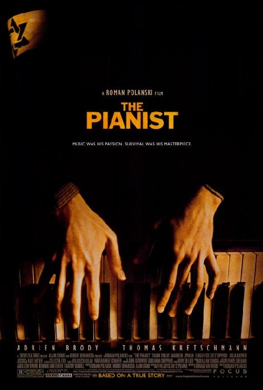 affiche du film le pianiste acheter affiche du film le pianiste 2972 affiches et. Black Bedroom Furniture Sets. Home Design Ideas