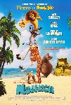 Affiche du film d'animation Madagascar