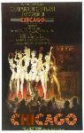 Affiche de la Comédie Musicale Chicago (Broadway)
