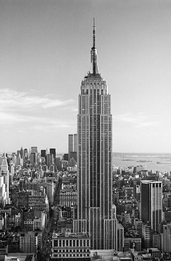 The Empire State Building Noir