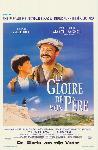 Affiche du film de Yves Robert / Marcel Pagnol La Gloire de mon Père
