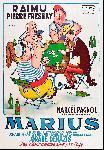 Affiche du film de Marcel Pagnol Marius
