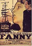 Affiche du film de Marcel Pagnol / Marc Allégret Fanny 2