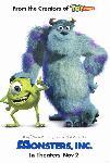 Affiche officielle du film Monstres et Cie