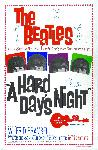 Poster du film A Hard Day's Night (Beatles)