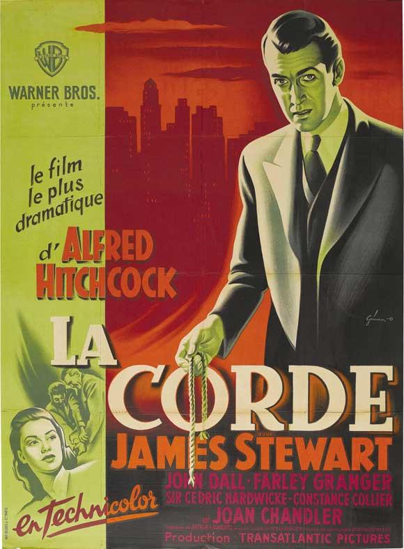 affiche du film de alfred hitchcock la corde acheter affiche du film de alfred hitchcock la. Black Bedroom Furniture Sets. Home Design Ideas