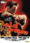 Affiche du film de Alfred Hitchcock La Loi du silence