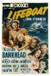 Affiche du film de Alfred Hitchcock Lifeboat