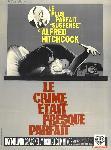 Affiche du film Le Crime était presque parfait Hitchcock