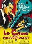 Poster du film d'Hitchcock Le Crime était presque parfait